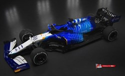 Presentazione Williams FW43B