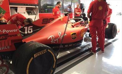 Problemi tecnici fermano le due Ferrari nelle qualifiche del Gp di Germania - Problemi tecnici fermano le due Ferrari nelle qualifiche del Gp di Germania