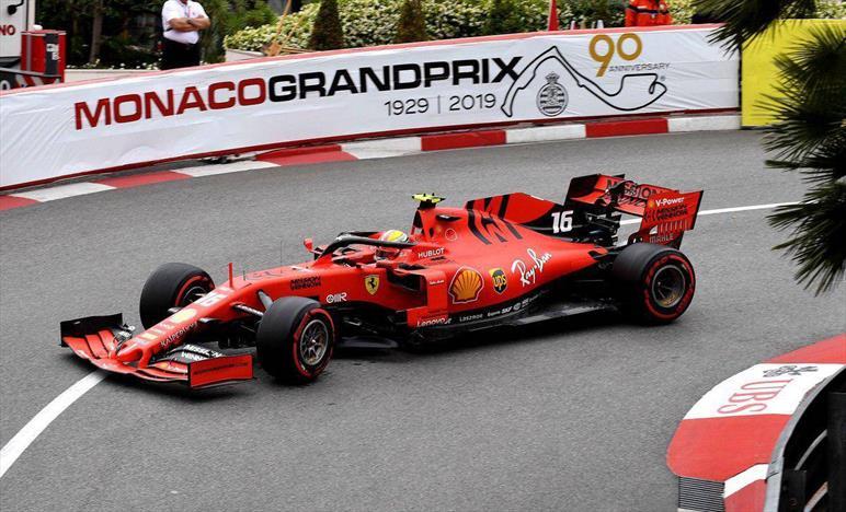 Prove libere Monaco: Vettel terzo con distacco, Leclerc fatica con le gomme