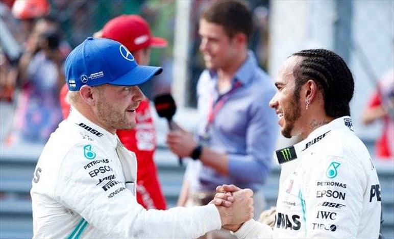 Qualifica Gp d'Italia: Mercedes soddisfatta del secondo e terzo posto