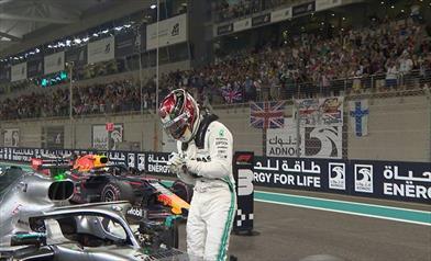 Qualifiche Abu Dhabi: Hamilton in Pole, pasticcio Ferrari nel finale