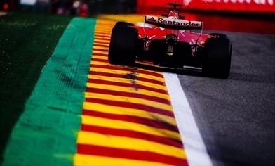 Qualifiche Gp Belgio: Pole di Hamilton ma Vettel è accanto a lui