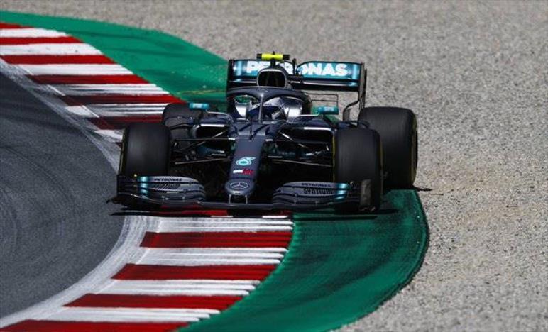 Qualifiche Gp d'Austria: Hamilton secondo e Bottas quarto