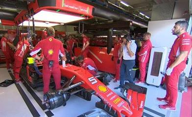 Qualifiche Gp d'Austria: Leclerc in Pole, Vettel decimo per un problema tecnico - Qualifiche Gp d'Austria: Leclerc in Pole, Vettel decimo per un problema tecnico