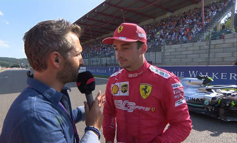 Qualifiche Gp del Belgio: Leclerc in Pole, Vettel secondo a 7 decimi