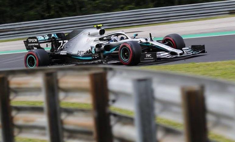Qualifiche Ungheria: Mercedes si arrende a Verstappen