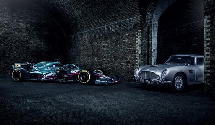 Quando James Bond incontra la F1 - 007 x Aston Martin Cognizant F1 Team