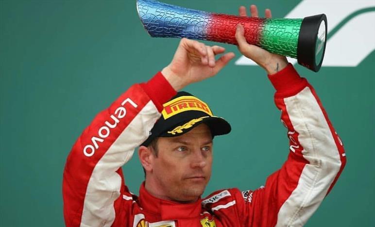 Raikkonen, buona gara, sfortuna all'inizio e fortuna alla fine.