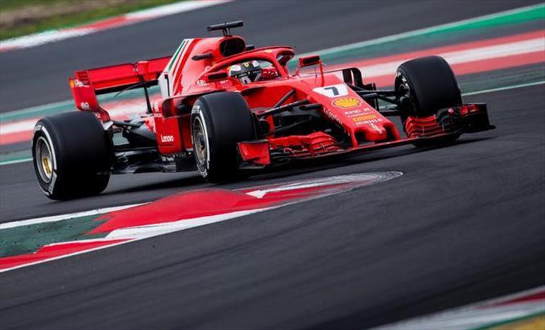 Raikkonen chiude i test di Barcellona al comando