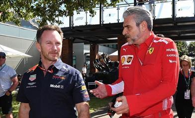 Red Bull contro Ferrari
