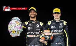 Ricciardo e Ocon: in Austria subito a punti
