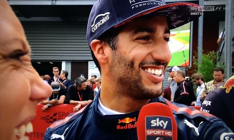 Ricciardo e quel vaffa a Verstappen