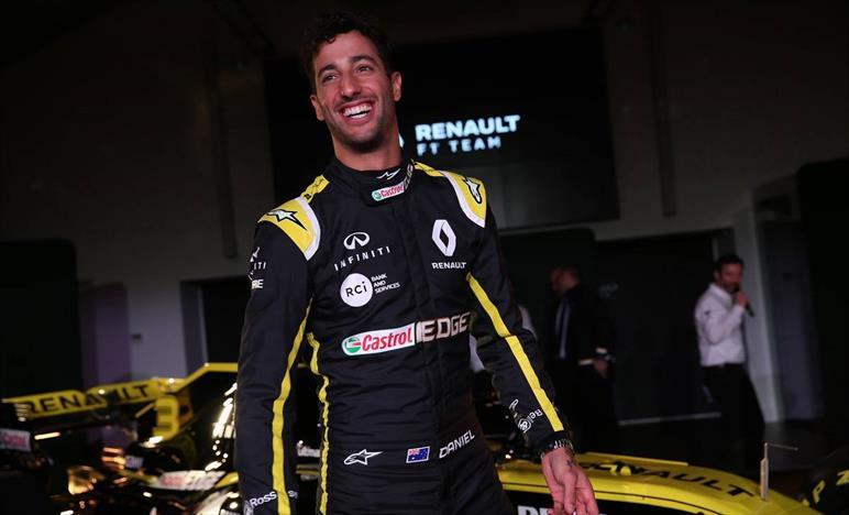 Ricciardo, non mi piace vedermi al nono posto