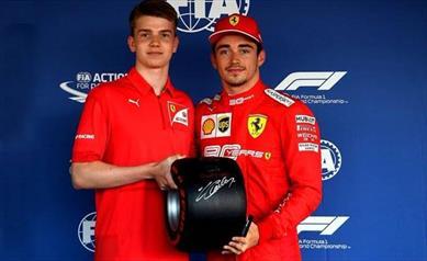 Russia: quarta Pole consecutiva per Leclerc, terzo Vettel