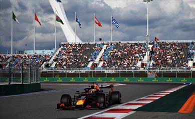 Russia: Verstappen partirà nono dopo aver chiuso quarto, disastro Albon