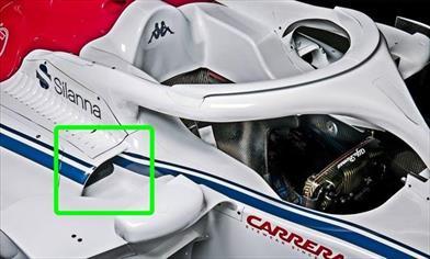 SAUBER C37 - ANALISI TECNICA: motorizzata Ferrari ma con molte idee proprie