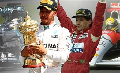 Senna era spietato, Hamilton è un gentiluomo