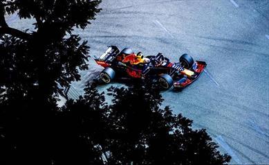 Singapore: Red Bull non va oltre il quarto posto con Verstapppen, sesto Albon