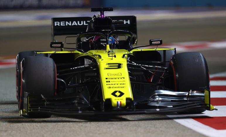 Squalifica per Ricciardo