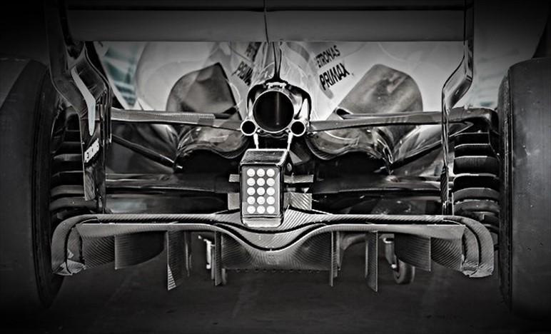 TECNICA: l'importanza delle parti esterne di un diffusore di F1