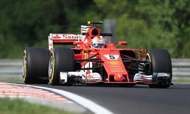 Test Budapest: sulla Ferrari SF70H testata con successo una sospensione evoluta