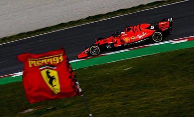 TEST F1 - Day 8: Sebastian Vettel dimostra la grande competitività della SF90