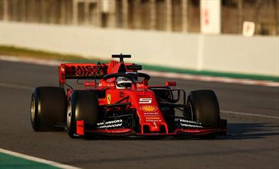 TEST F1 - Foto gallery Barcellona Circuit