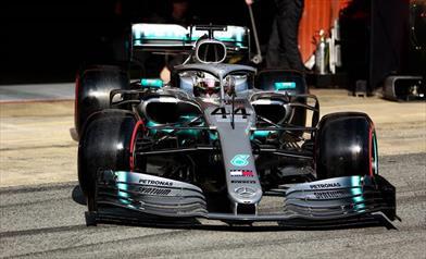 TEST F1 - Foto gallery circuito Barcellona, giorno 4