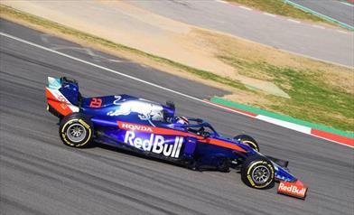TEST F1 / GIORNO 4: Albon mette la sua Toro Rosso davanti a tutti