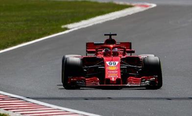 Test F1, Giovinazzi detta legge la Ferrari è impressionante