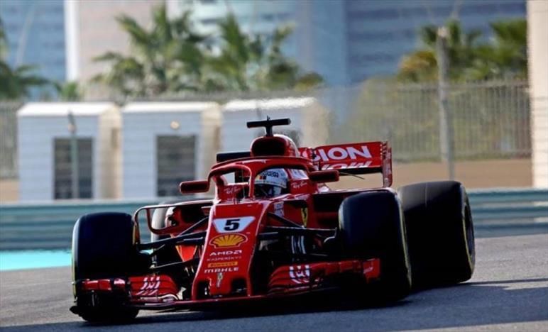 Test F1, Vettel leader (e va a muro), Raikkonen torna in Sauber, bene Kubica