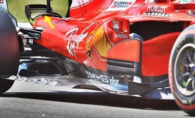 Test Ungheria: sulla Ferrari SF70H un nuovo diffusore per aumentare l'efficienza aerodinamica