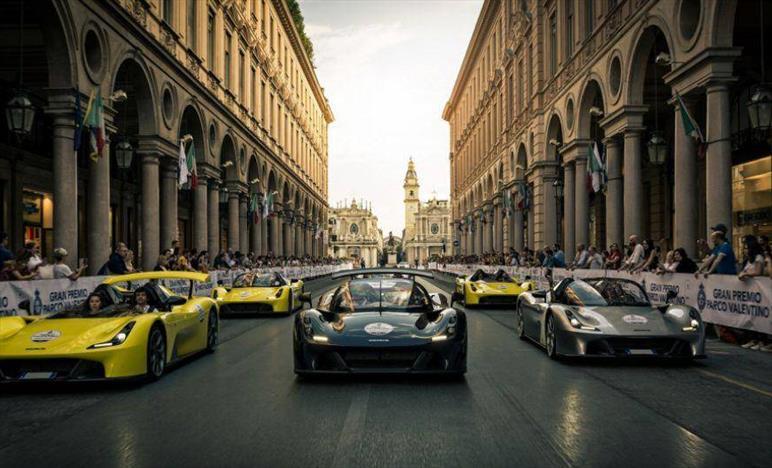 Torino è pronta per la quinta edizione del Motor Show di Parco Valentino: 19 - 23 Giugno 2019