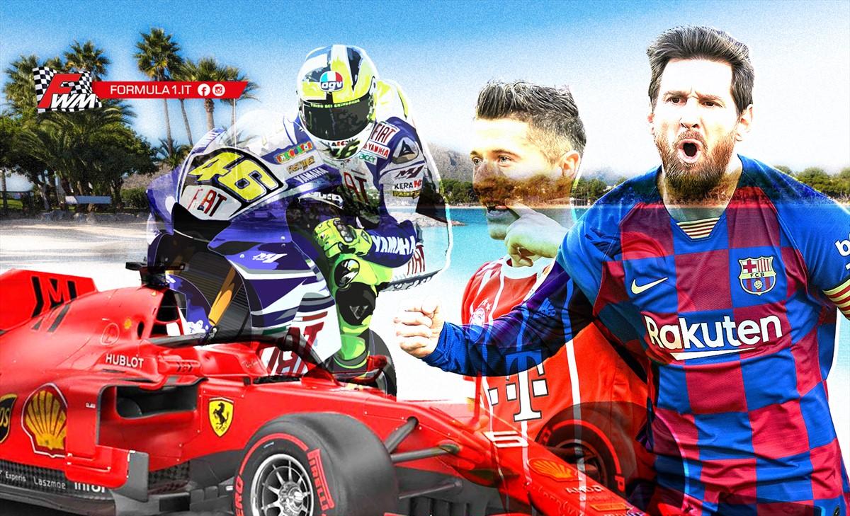 Un Ferragosto infuocato tra calcio, F1 e MotoGP