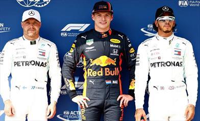 Ungheria: prima Pole in carriera per Verstappen, Gasly solo sesto