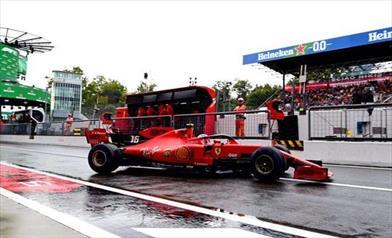Venerdì a Monza: Leclerc cauto, per Vettel domani saranno importanti le scie