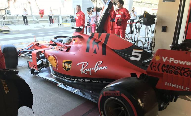 Venerdì ad Abu Dhabi: problemi per la Ferrari nel terzo settore