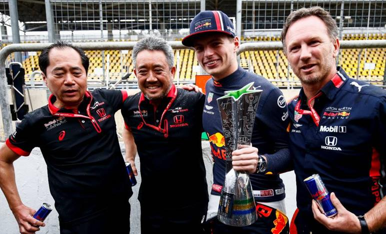 Verstappen come Senna, secondo Honda