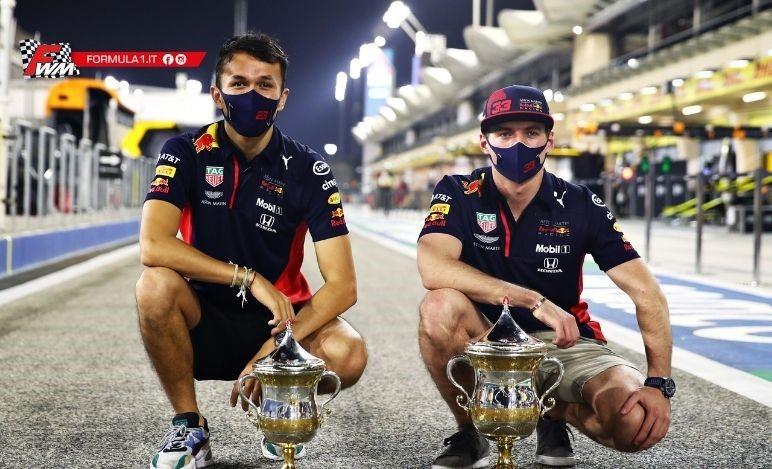 Verstappen e Albon, domande e risposte in vista del prossimo Gp di Sakhir