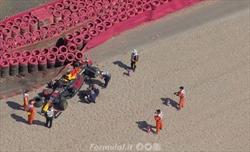 Verstappen portato in ospedale dopo l'incidente