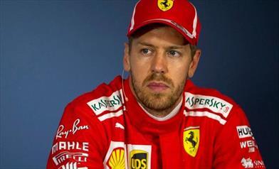Vettel, abbiamo limitato i danni, fortunato nel contatto con Bottas