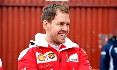 Vettel: amo questa squadra