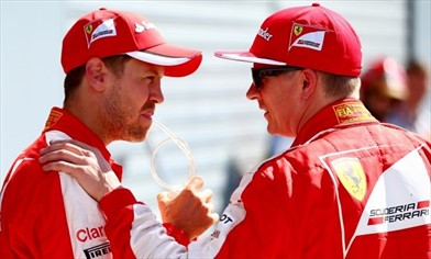 Vettel: con Kimi discutiamo spesso