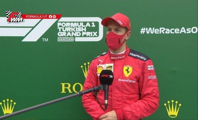 Vettel: con le gomme slick avremmo potuto vincere