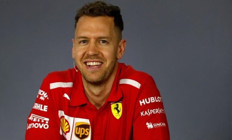 Vettel, contento della macchina, ma domani sarà ancora meglio