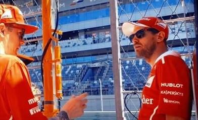 Vettel davanti al Tribunale Sportivo