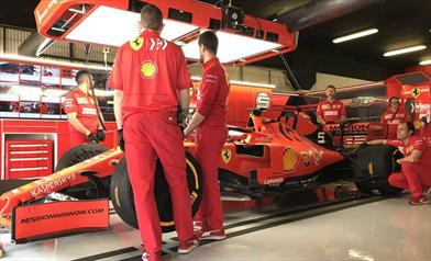 Vettel e Leclerc: ''Perdiamo nelle curve lente del terzo settore'' - Vettel e Leclerc: Perdiamo nelle curve lente del terzo settore