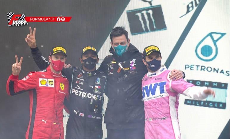 Vettel e quelle emozionanti parole per Hamilton