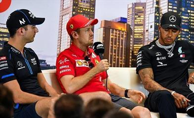 Vettel e tutti i piloti pronti a fermare lo show - Vettel e tutti i piloti pronti a fermare lo show