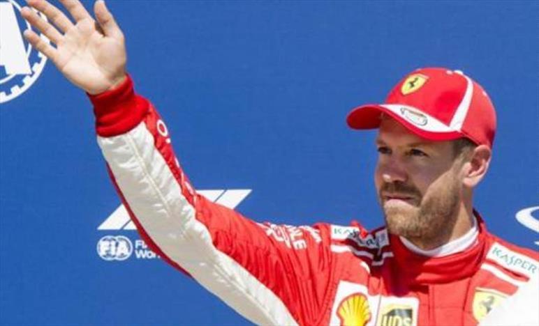 Vettel, giro quasi perfetto, un onore riportare la Ferrari in pole